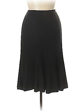 Eileen Fisher Silk Skirt Size XL