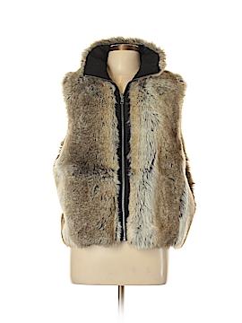 Weatherproof Faux Fur Vest Size L