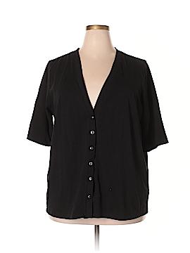 D&Co. Short Sleeve Top Size 2X (Plus)