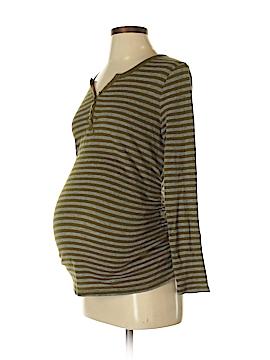 Liz Lange Maternity for Target Long Sleeve Henley Size S (Maternity)