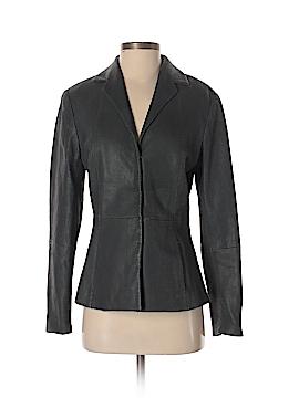 Worth New York Leather Jacket Size 6
