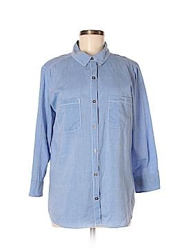 Velvet by Graham & Spencer Long Sleeve Button-Down Shirt Size M