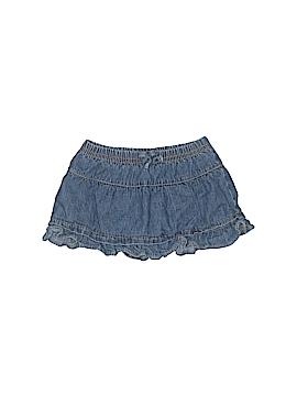 Okie Dokie Denim Skirt Size 3-6 mo