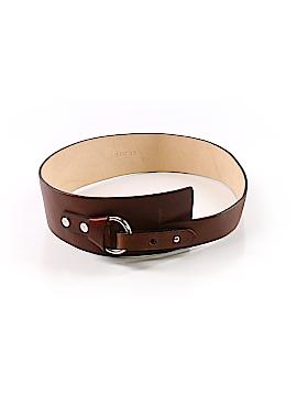 St. John Leather Belt Size P