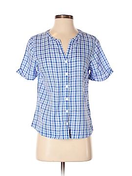 L.L.Bean Short Sleeve Button-Down Shirt Size XS