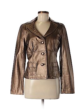 Ideology Leather Jacket Size M
