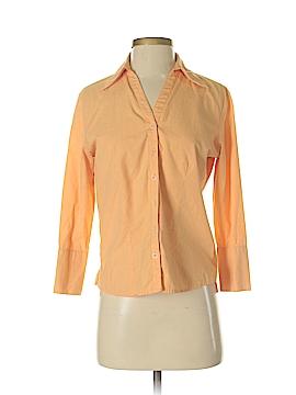 Harve Benard by Benard Haltzman Long Sleeve Button-Down Shirt Size S