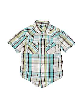 Arizona Jean Company Short Sleeve Button-Down Shirt Size 4 - 5