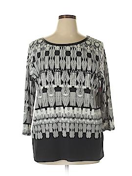 Rafaella 3/4 Sleeve T-Shirt Size XL (Petite)