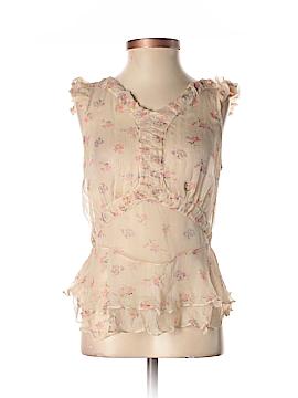 Jill Stuart Sleeveless Silk Top Size 4