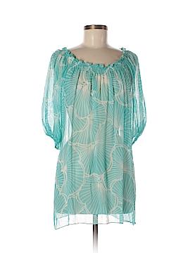 Shoshanna Short Sleeve Silk Top Size M