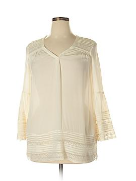 Calypso St. Barth 3/4 Sleeve Blouse Size XS