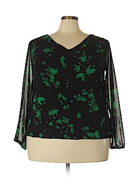 Torrid Long Sleeve Blouse Size 1X Plus (1) (Plus)