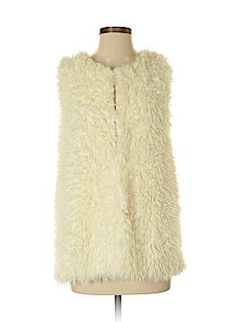 Bobeau Faux Fur Vest Size S