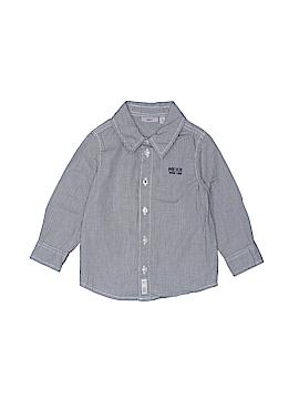 Mexx Long Sleeve Button-Down Shirt Size 12-18 mo