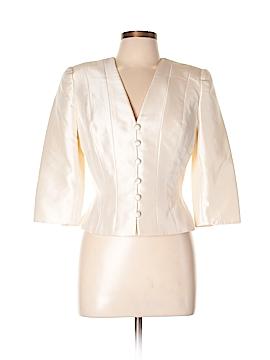 Carmen Marc Valvo Silk Blazer Size 10
