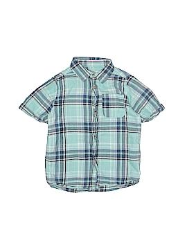 Zara Short Sleeve Button-Down Shirt Size 4 - 5