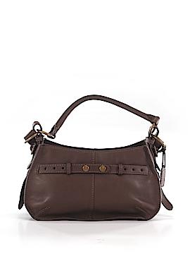 Ecco Leather Satchel One Size
