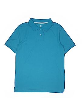 J. Khaki Short Sleeve Polo Size X-Large (Youth)