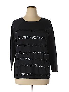 Design 365 Pullover Sweater Size 1X (Plus)