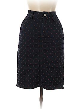 Pilcro and The Letterpress Denim Skirt 28 Waist