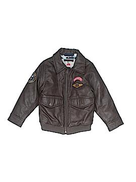 Baby Gap Faux Leather Jacket Size 4