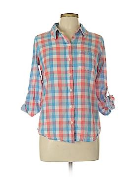 Japna Long Sleeve Button-Down Shirt Size L