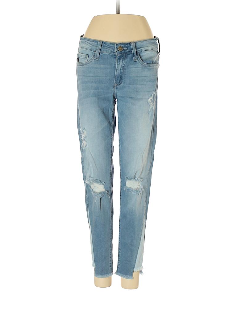 63024aeb75d27 KANCAN JEANS Solid Light Blue Jeans 26 Waist - 75% off | thredUP