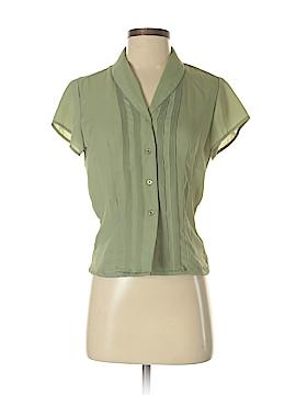 Jones New York Short Sleeve Blouse Size 2 (Petite)