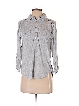 Eyelash Couture Long Sleeve Polo Size S