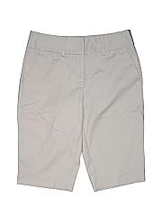 Apt. 9 Women Khaki Shorts Size 8