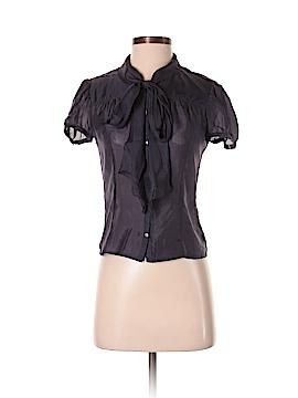 BOSS by HUGO BOSS Short Sleeve Blouse Size 2