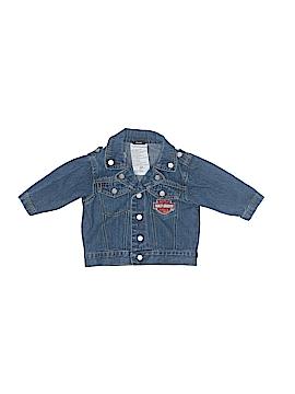 Harley Davidson Denim Jacket Size 6 mo