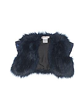 American Girl Faux Fur Vest Size 6
