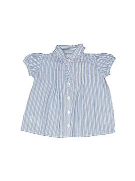 Ralph Lauren Short Sleeve Button-Down Shirt Size 3 mo