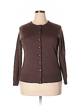 Avellini Wool Cardigan Size 1X (Plus)