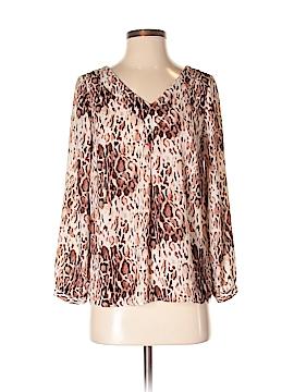 Adrienne Vittadini Long Sleeve Blouse Size XS