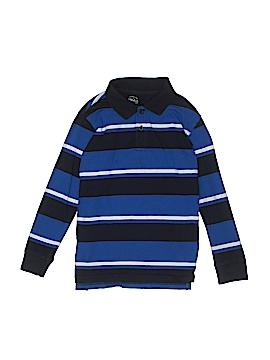 Faded Glory Long Sleeve Polo Size 6 - 7