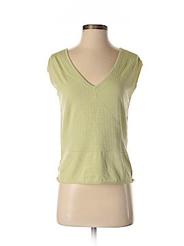 Max Studio Short Sleeve Silk Top Size S