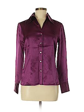 Tesori Long Sleeve Silk Top Size XS