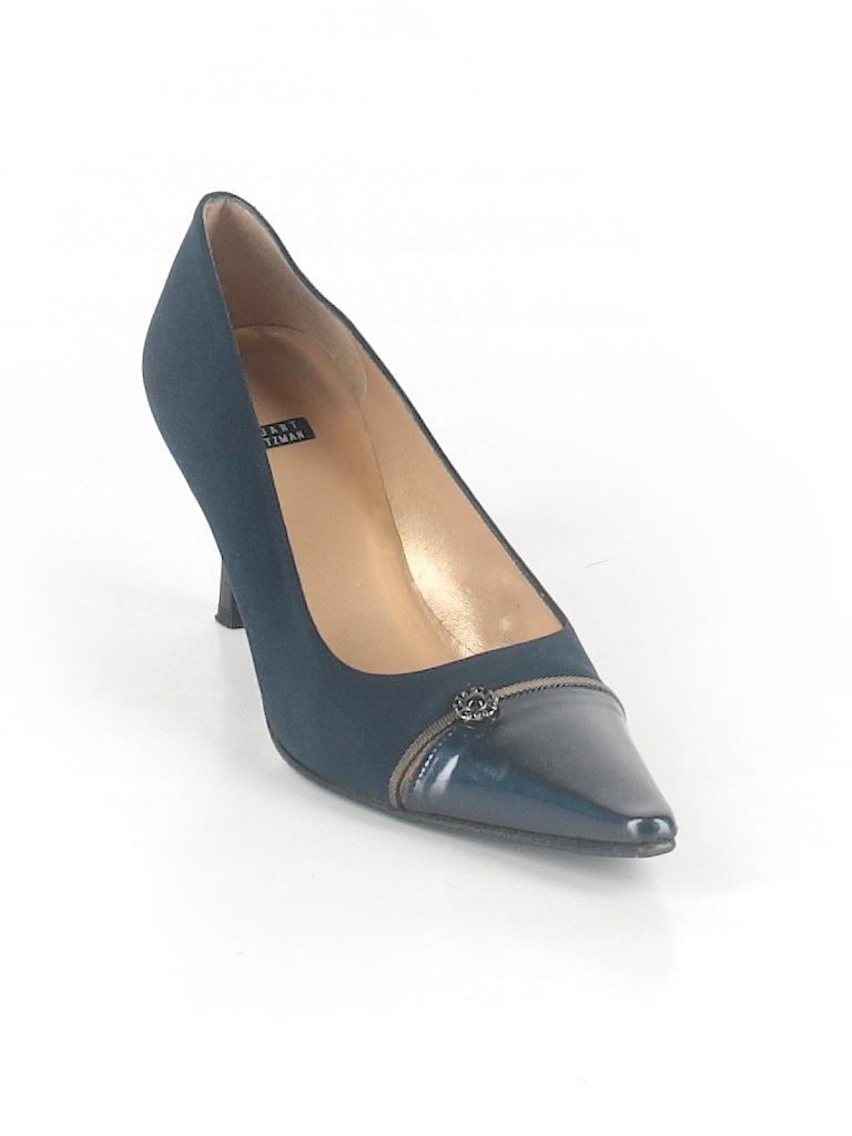 Women's 8 1/2 Stuart Weitzman Blue Pumps