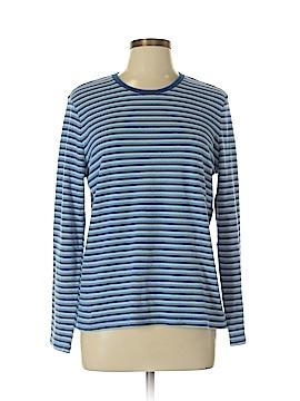 Basic Style Long Sleeve T-Shirt Size L