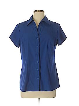 Como Short Sleeve Blouse Size L