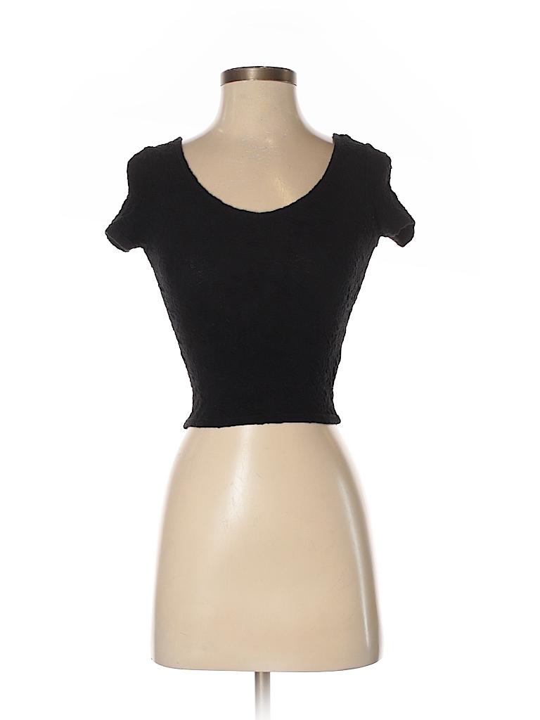Topshop Women Short Sleeve Top Size 0