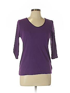 Faded Glory 3/4 Sleeve T-Shirt Size L