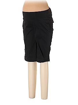 Duo Maternity Khaki Shorts Size M (Maternity)