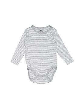 H&M Long Sleeve Onesie Size 4-6 mo