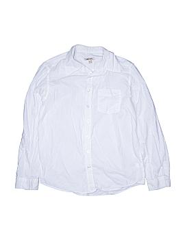 Cherokee Long Sleeve Button-Down Shirt Size 16 - 18