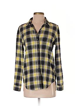 Vans Long Sleeve Button-Down Shirt Size XS