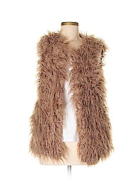 Dani Faux Fur Vest Size S